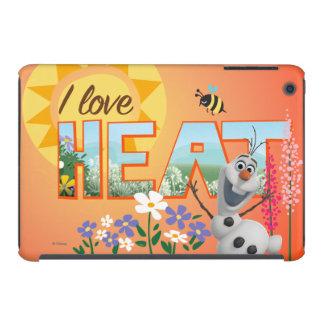 Amor de Olaf I el calor Fundas De iPad Mini Retina