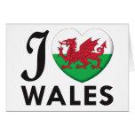 Amor de País de Gales Tarjeton