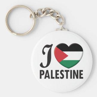 Amor de Palestina Llavero Redondo Tipo Pin