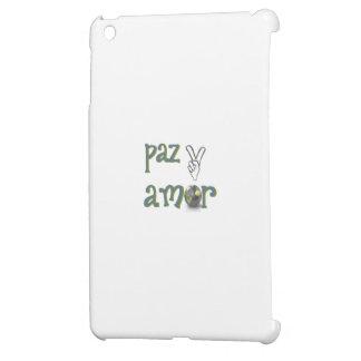 amor de paz y iPad mini carcasas