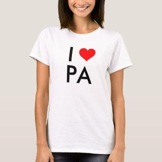Amor de Pennsylvania Playera