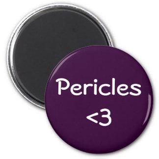 Amor de Pericles Imán Redondo 5 Cm