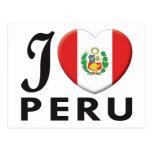 Amor de Perú v2 Tarjeta Postal