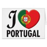 Amor de Portugal Tarjeton