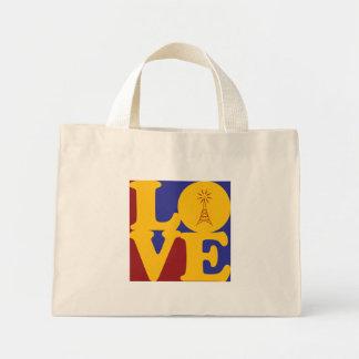 Amor de radio aficionado bolsa de mano