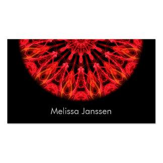 Amor de rubíes - Mandala Tarjetas De Visita