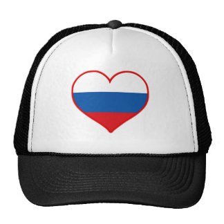 Amor de Rusia Gorras