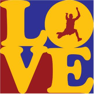 Amor de salto largo esculturas fotograficas