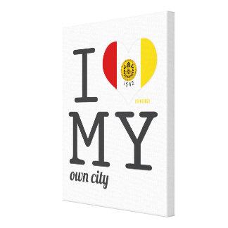 Amor de San Diego California I mi propia ciudad Impresion De Lienzo