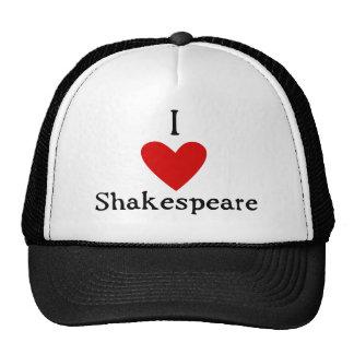 Amor de Shakespeare Gorros Bordados