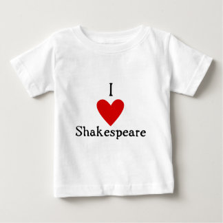 Amor de Shakespeare Playera De Bebé