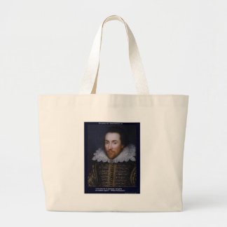 Amor de Shakespeare/tarjetas de regalos sin fin de Bolsa De Mano