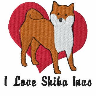 Amor de Shiba Inu Sudadera Con Serigrafia