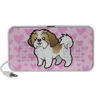 Amor de Shih Tzu (perrito cortado) (añada su propi Altavoz De Viaje