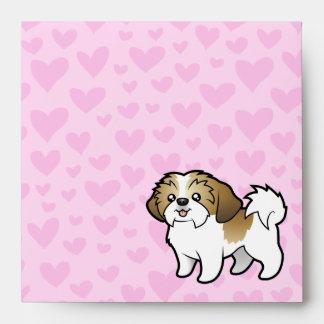 Amor de Shih Tzu (perrito cortado) Sobre
