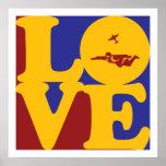 Amor de Skydiving Posters