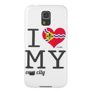Amor de St. Louis Missouri I mi propia ciudad Carcasas De Galaxy S5