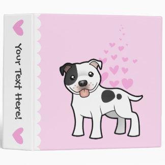 Amor de Staffordshire bull terrier