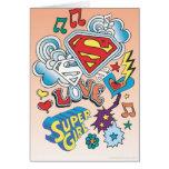 Amor de Supergirl Tarjetón