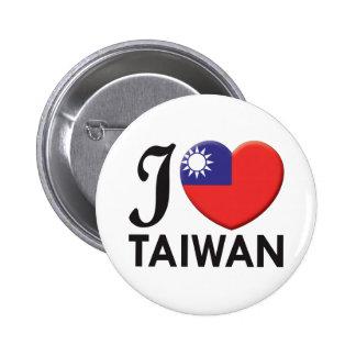 Amor de Taiwán Pins