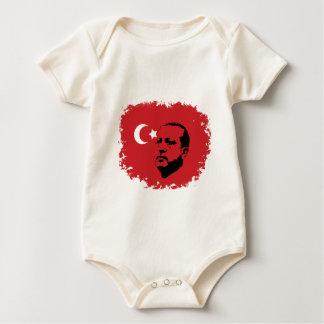 amor de Tayyip Erdogan Mameluco De Bebé