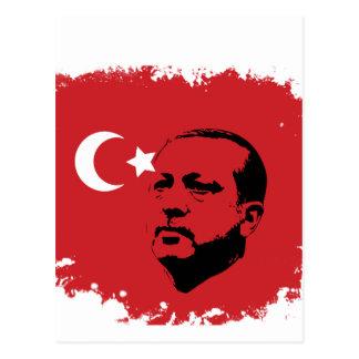 amor de Tayyip Erdogan Tarjetas Postales
