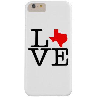 Amor de Tejas Funda Para iPhone 6 Plus Barely There