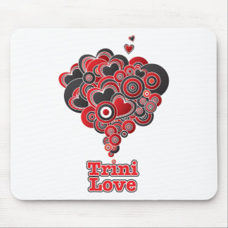 Amor de Trini Alfombrillas De Ratones