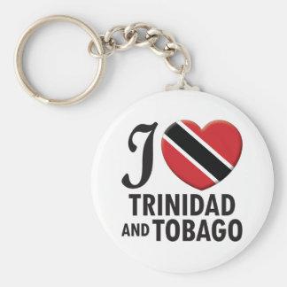 Amor de Trinidad and Tobago Llavero Personalizado