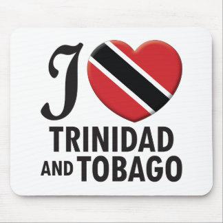 Amor de Trinidad and Tobago Alfombrillas De Raton