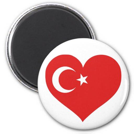 Amor de Turkiye Imán Redondo 5 Cm
