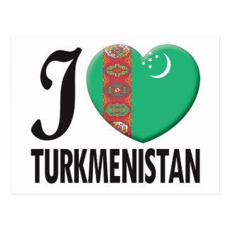 Amor de Turkmenistán Tarjeta Postal