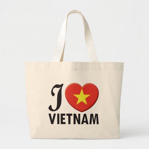 Amor de Vietnam Bolsa Lienzo