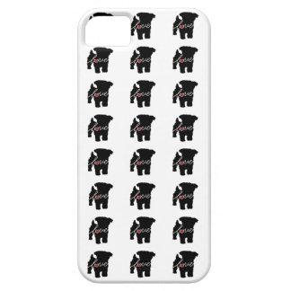 Amor de Yorkiepoo (Yorkie/caniche) iPhone 5 Funda