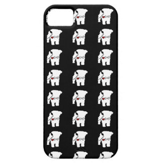 Amor de Yorkiepoo (Yorkie/caniche) iPhone 5 Fundas