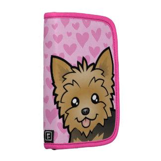 Amor de Yorkshire Terrier (pelo corto ningún arco) Planificadores