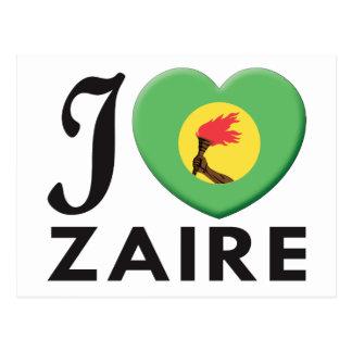 Amor de Zaire Tarjeta Postal