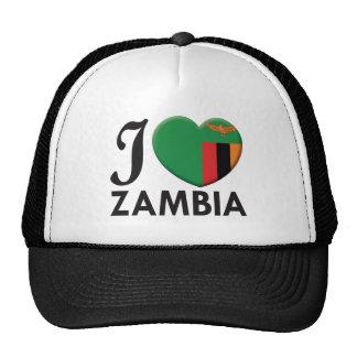 Amor de Zambia Gorras