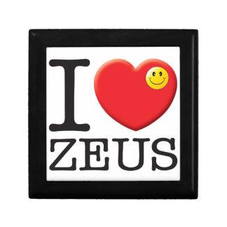 Amor de Zeus Caja De Joyas