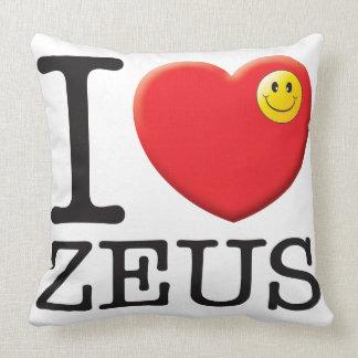 Amor de Zeus Cojines