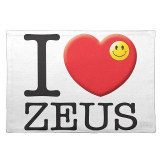 Amor de Zeus Manteles Individuales