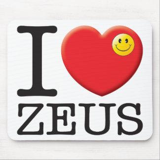 Amor de Zeus Alfombrilla De Ratón
