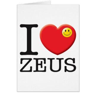 Amor de Zeus Felicitación