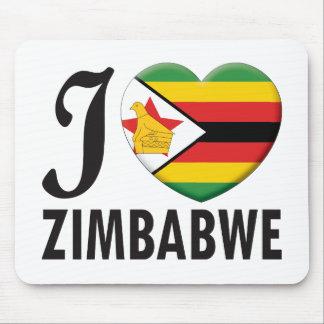 Amor de Zimbabwe Tapetes De Ratón