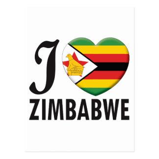 Amor de Zimbabwe Tarjetas Postales