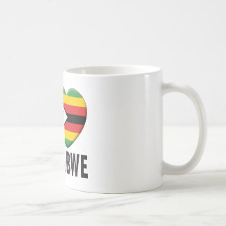 Amor de Zimbabwe Tazas