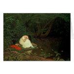 Amor decepcionado, 1821 tarjeta de felicitación