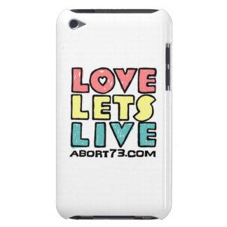 Amor deja vivo ()/Abort73.com del suplente Case-Mate iPod Touch Protector