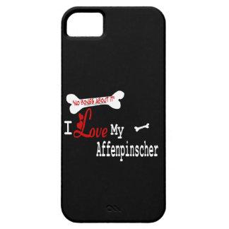 Amor del Affenpinscher I mi iPhone 5 Carcasas