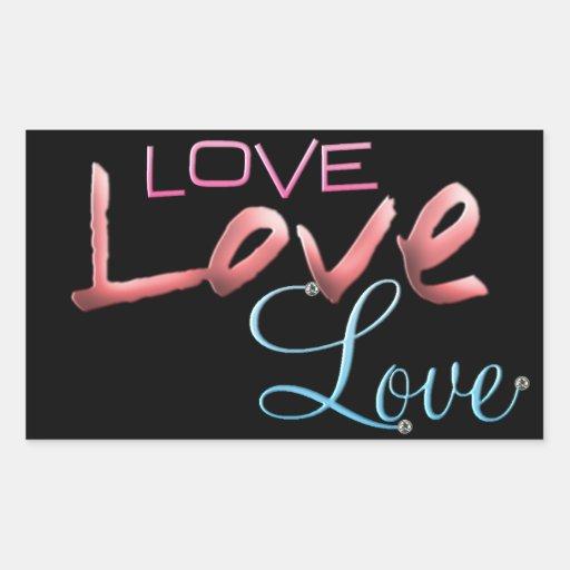 Amor del amor del amor etiquetas